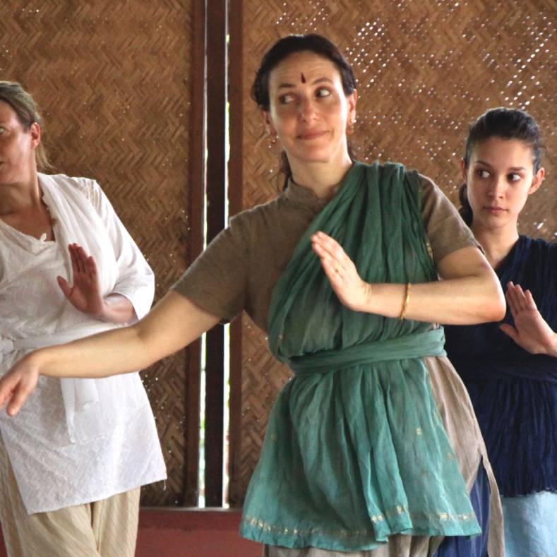 Stage d'eté, Danse Mohini Attam et chant de l'Inde à Rennes